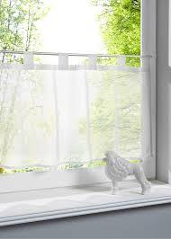 Bringt Leichtigkeit An Die Fenster Die Scheibengardine Uni