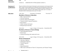 Fine Mbbs Resume Format Contemporary Example Resume Ideas