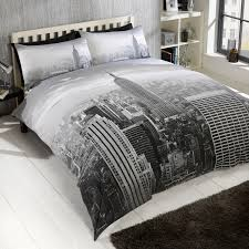 spectacular new york city duvet cover with bedding