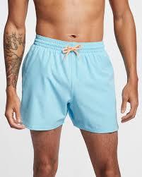 Nike Swim Short Size Chart Nike Swim Retro Stripe Lap Mens 13cm Approx Swimming Trunks