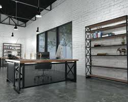 industrial style office desk. Industrial Style Office Furniture Loft Beautiful Space Home . Desk K
