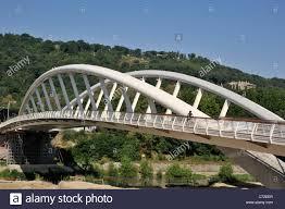 italy, rome, ponte della musica, music bridge, the new pedestrian bridge in