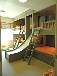 bunk bed with slide and desk. Bunk Beds With A Slide Wonderful Bedding Gorgeous Kids Bed For Throughout . And Desk