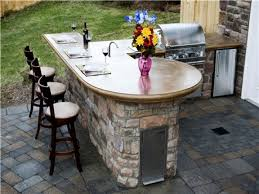 Outdoor Kitchen Countertops Outdoor Paver Designs Outdoor Kitchen Island Countertops Outdoor