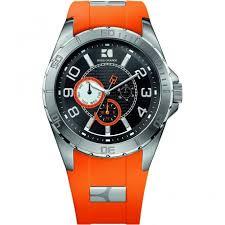 hugo boss orange men s orange rubber strap watch 1512812 watches men 039 s orange rubber strap watch