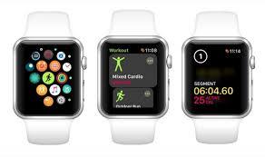 apple watch workouts into segments