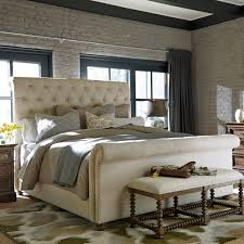 tufted upholstered sleigh bed. Exellent Upholstered Decorating Glamorous Tufted Sleigh Bed 15 Master UNIR2287 Beige Tufted  Upholstered Sleigh Bed Unir2287 Intended Upholstered T