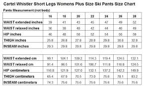 Cartel Whistler Womens Plus Size Ski Pants Sl Magenta Sizes 18 26