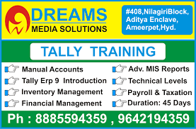 Web Designing Course Fees In Hyderabad Tally Erp 9 Training Institute In Ameerpet Hyderabad Tally