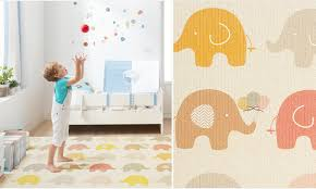 Bubble Mat Little Elephant Parklon Play Mats