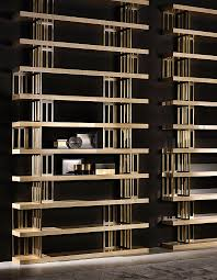 espace furniture. Architectural Lines In The Metal Detailing Define This Stunning Etagere. Espace Libreria From Daytona Collection By Signorini \u0026 Coco. Furniture