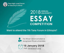 tana forum annual essay competition