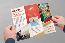 unique brochures check out travel company trifold brochure by saptarang on creative