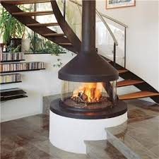 open wood fireplace design - Google Search | My House Ideas ...