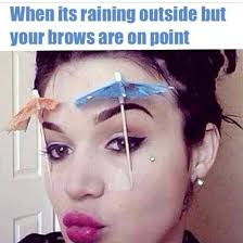 Funny Eyebrow Quotes. QuotesGram via Relatably.com