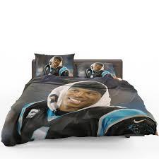 cam newton quarterback ina panthers nfl bedding set1 600x600 cam newton quarterback ina panthers nfl