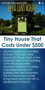 tiny house costs. Related Posts: Simple Affordable Tiny House That Costs