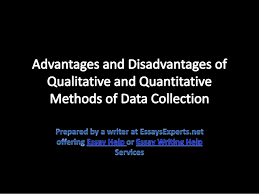 essayhelp advantages and disadvantages of qualitative and quantitati essayhelp advantages and disadvantages of qualitative and quantitative methods