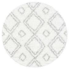 iola easy white 5 ft round area rug iola easy white 5 ft