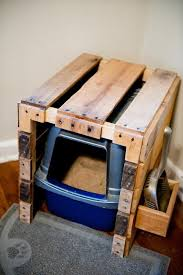 cat litter box furniture diy. plain cat pallet litter box for cat litter box furniture diy