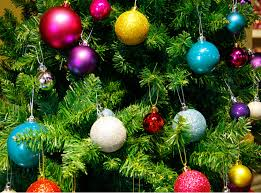 Decorating Christmas Tree With Balls Custom 32pcs Lot Christmas Tree Decor Ball Bauble Hanging Xmas Party