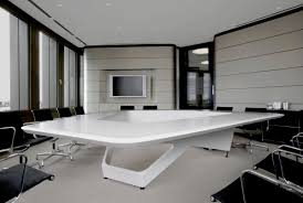 full size of tables amazing modern conference table unique shaped lacquer white finish black leather awesome office conference room
