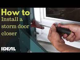 replace a storm or screen door closer