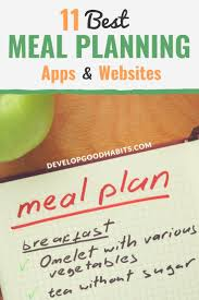 personal diet planner 11 best meal planning apps and websites to save you time money and