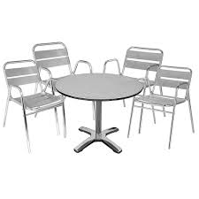 stainless steel table and chairs impressive with photo of stainless steel collection on gallery
