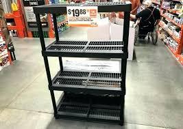 4 shelf storage unit leave a comment black plastic ventilated shelving plano white pla