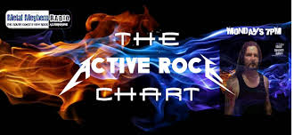 The Active Rock Chart August 19th Metal Meyhem Radio