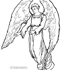 Coloring Pages Angels Angel Coloring Pages For Adults Free Angel