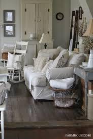 farmhouse living room - love the floor color