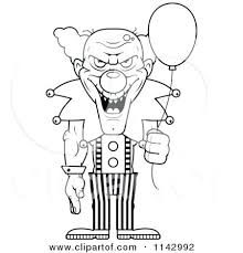 Pennywise Colouring Pages Evil Clown Coloring Pages Pennywise Color