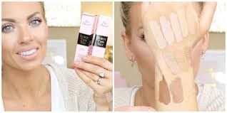 Too Faced Concealer Light Too Faced Born This Way Concealers Swatches Demo Review