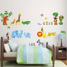 tropical jungle wall stickers wall