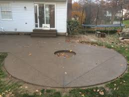 concrete patio with fire pit. Pittsburgh Patios Inc Additions Latest Concrete Patio With Firepit Fire Pit D