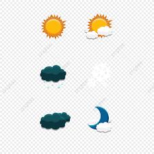 Weather Icon Elements Chart Sun Rain Snow Sky Sky Mobile