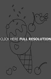 Small Picture Coloring Pages Ice Cream Coloring Pages Foods Coloring Pages Of