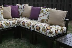 Spray Painting Fabric  The Happier HomemakerDiy Outdoor Furniture Cushions