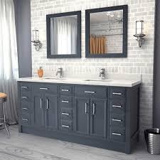 breathtaking double vanity bathroom 20 gray cabinet1