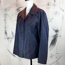 Utex Design Utex Design Polished Denim Jacket This Vintage Y2k Depop