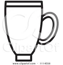 mug clipart black and white. clipart black and white cup. mug t