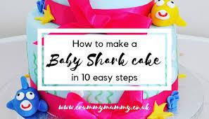 baby shark cake in 10 easy steps