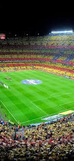 stadium c nou barcelona spain