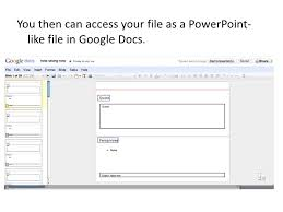 Google Docs Powerpoint Save Powerpoint To Google Docs