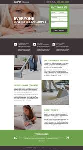 Carpet Cleaning Website Design Carpet Cleaning Service Free Quote Landing Page Design How