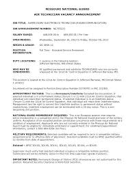 Sample Resume For Electronics Technician Electronic Engineer Cover Letter Examples Best Ideas Of Resume
