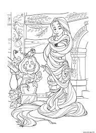 Elegant Coloriage Princesse Raiponce A Imprimer Mega Coloring Pages