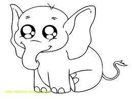 Baby Elephant Coloring Pages Coloring Pages For Children